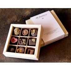 Набор ассорти из 9 шоколадных конфет