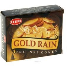 Благовония конусы HEM, Золотой дождь