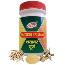 Шатавари чурна, Sri Ganga (порошок, 100 гр)