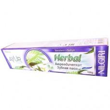 Зубная паста Ayur Plus Nilgiri Эвкалипт и бабул