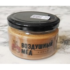 Воздушный мед с кэробом, 200 гр
