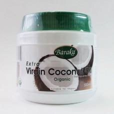 Кокосовое масло пищевое Extra Virgin Baraka (пластик)