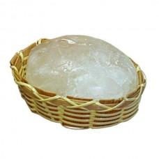 Дезодорант кристалл в бамбуковой корзинке и пакете