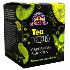 Чай черный с кардамоном, Indian Bazar