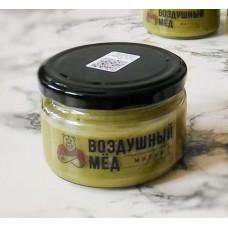 Воздушный мед с чаем матча, 200 гр