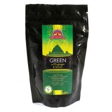 Чай зеленый с имбирем и лимоном, Indian Bazar