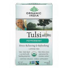 Чай Тулси с мятой, Organic India (1 пак)