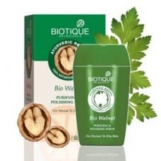 Скраб для лица Biotique Bio Walnut с Грецким Орехом смягчающий