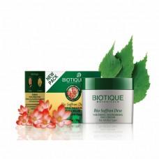 Крем для лица Biotique Bio Saffron с Шафраном дневной антивозрастной