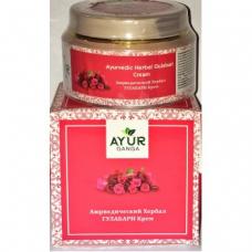 "Крем для лица ""Гулабари"" с розой, Ayur Ganga"