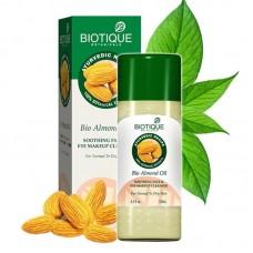Масло для лица Biotique Bio Almond Oil для снятия макияжа