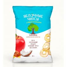 """Яблочные чипсы с мёдом и кокосом """"Здороведа"""""""