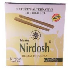 Аюрведические сигареты-ингаляторы Nirdosh без фильтра, 20 шт