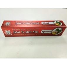 Зубная паста Day 2 Day Care Красная