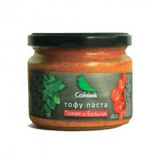 Тофу паста томат и базилик