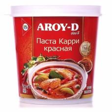 Паста карри красная острая Aroy-D