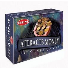 Благовония конусы HEM, Привлечение денег