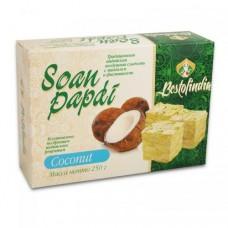 Индийские сладости Соан Папди с кокосом