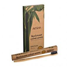 Зубная щетка из бамбука средняя