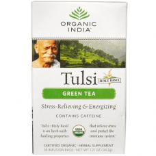 Чай Тулси с зеленым чаем, Organic India (1 пак)