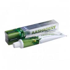 Зубная паста Aashadent лавр и мята