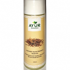 Шампунь аюрведический с мускусным корнем, Ayur Ganga