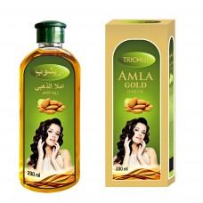Масло для волос Амла Золотое Тричуп (Trichup) с маслами миндаля и зародышей пшеницы