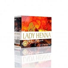 Краска для волос Lady Henna Каштановая