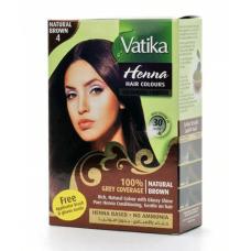 Краска для волос Dabur Vatika Коричневая