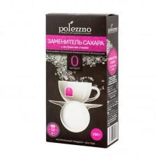 Заменитель сахара с экстрактом стевии  Polezzno