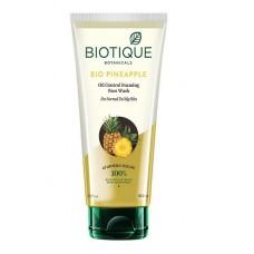 Гель-пенка для умывания с ананасом Biotique
