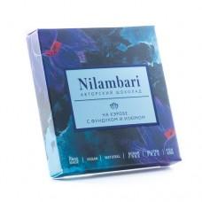 Шоколад  на кэробе с фундуком и изюмом Nilambari