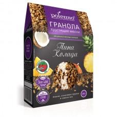 """Гранола """"Пина Колада"""" с кокосом и ананасом Polezzno"""